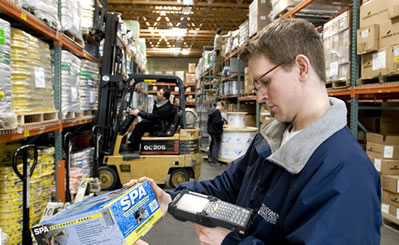 Latest technology in warehouse inventory control